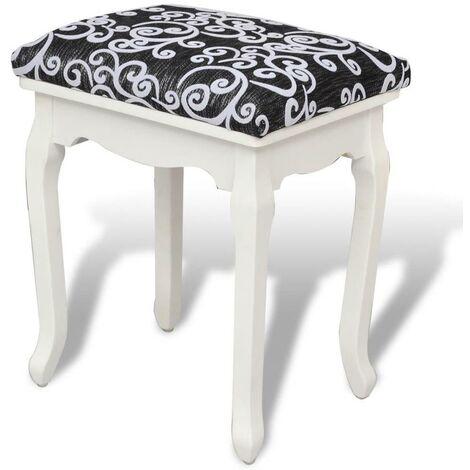 mieux aimé 49c05 311d2 Banquette pouf tabouret meuble tabouret pouf pour coiffeuse en bois