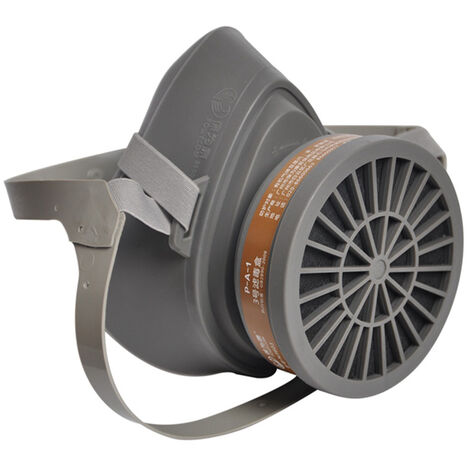 Baoweikang 3600 demi-masque anti-gaz + coffret filtre, masque anti-poussiere au charbon actif, particules anti-odeurs
