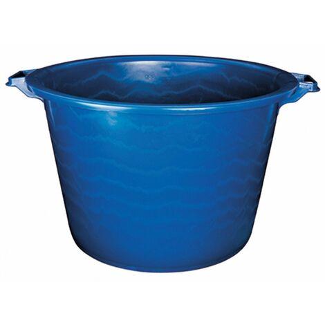 Baquet rond renforcé 120 l bleu 53,5/72 x 46,5