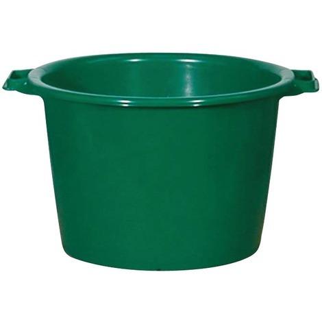 Baquet rond renforcé - 40 l - Vert
