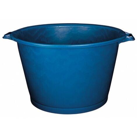 Baquet rond renforcé 75 l bleu 46/63,5 x 40