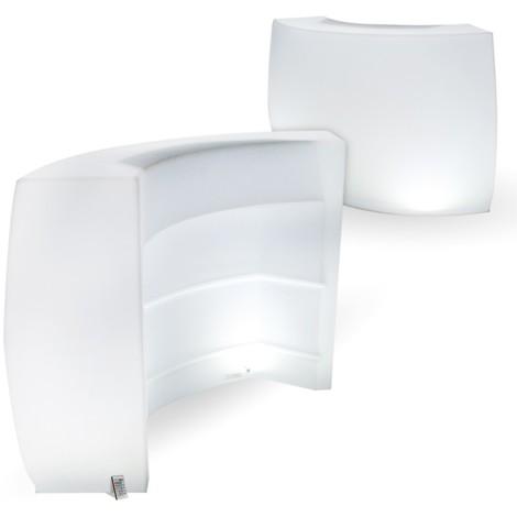 Bar 1/4 de Cercle Rechargeable LED Extérieur 106 cm