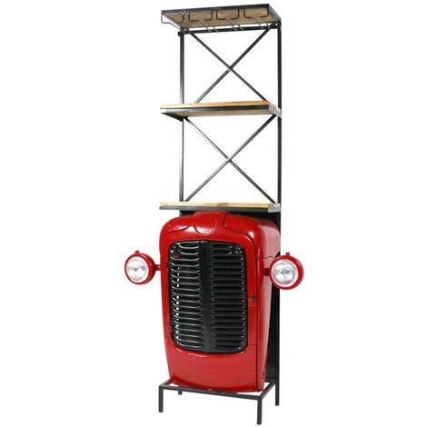 Bar industriel Tracteur rouge - Rouge