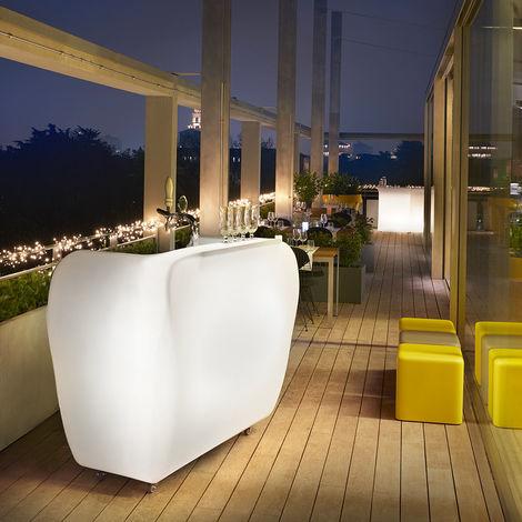 Bar portable counter with wheels outdoor indoor design SLIDE ROLLER BAR