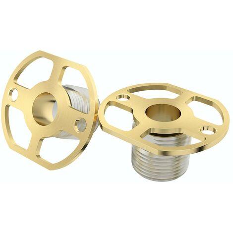 Bar shower valve quick fixing kit