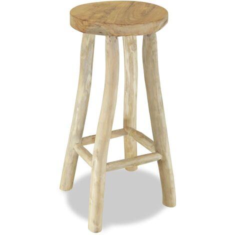 Bar Stool Solid Teak Wood