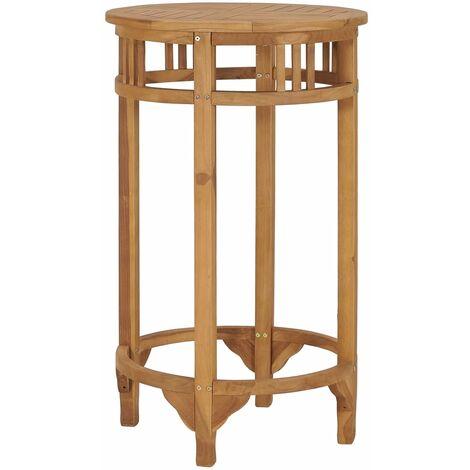 Bar Table ? 60 cm Solid Teak Wood