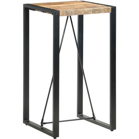 Bar Table 60x60x110 cm Solid Mango Wood