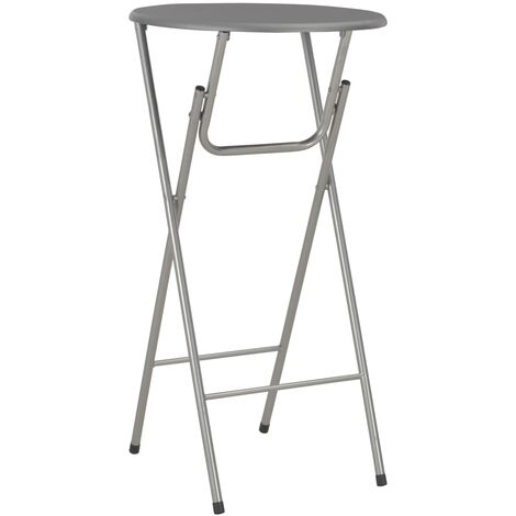 Bar Table Anthracite 60x112 cm MDF - Grey