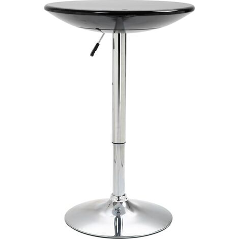 Bar Table Black 60 cm ABS