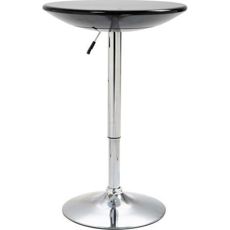 Bar Table Black 60 cm ABS - Black
