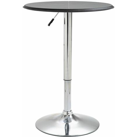 Bar Table Black 60 cm MDF