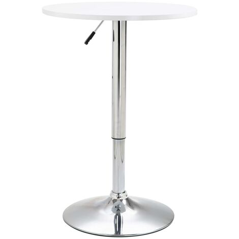 Bar Table White 60 cm MDF