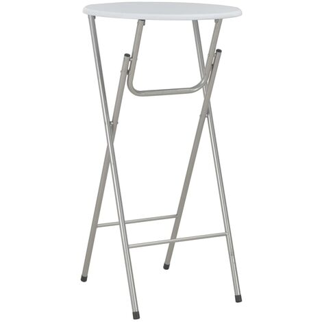 Bar Table White 60x112 cm MDF - White