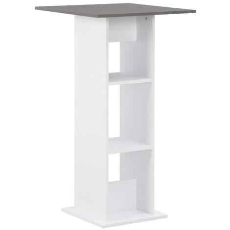 Bar Table White 60x60x110 cm - White