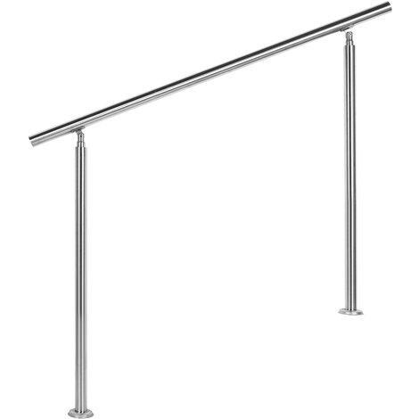 Barandilla acero inox 120cm Pasamanos escalera Parapeto