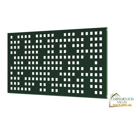 """main image of """"Barandilla Exterior Modular - Modulo Chapa 195X94 Cm Mod. Barcelona Blanco"""""""