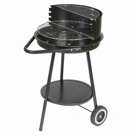 Barbacoa de carbón redonda