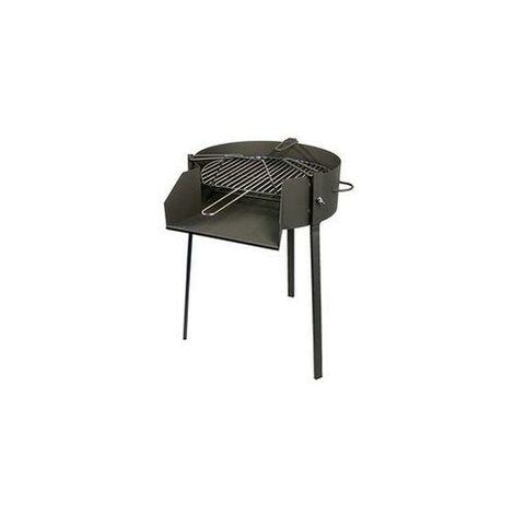 Barbacoa de carbón con Soporte para Paella Imex el Zorro 75x50