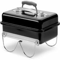 Barbacoa de carbón Weber Go-Anywhere Black 44 x 42 x 27 cm - 1131004 - Weber