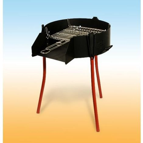 BARBACOA RUSTICA 50 PARRILA DOBLE 40049