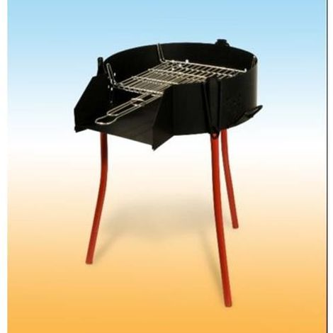 BARBACOA RUSTICA 60 PARRILLA DOBLE 40050