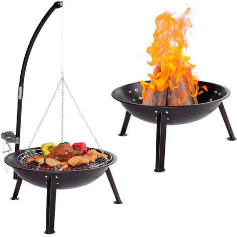 Barbecue A Carbonella Bbq Legna Carbone Braciere Da Giardino