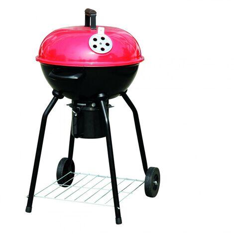 Barbecue à charbon avec couvercle