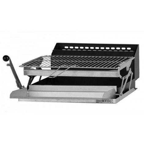 barbecue à charbon avec récupérateur de graisse - 65802 - m.fog