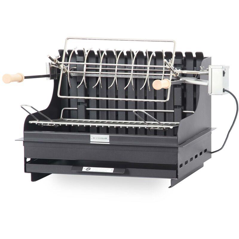 Barbecue à charbon de bois Exclusive Mendy 54*32 Acier Made in France - Le Marquier