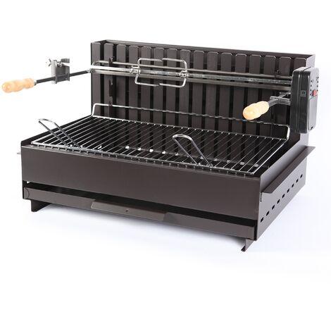 Barbecue à charbon de bois Original Vulcain TB 61*33 Acier LE MARQUIER