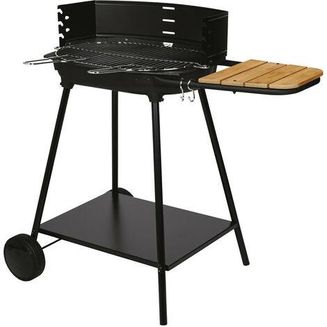 Barbecue à charbon de bois SOMAGIC - Basilic - Fabriqué en France