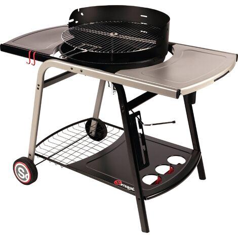 Barbecue à charbon de bois Vulcano 2500 - Somagic - Noir