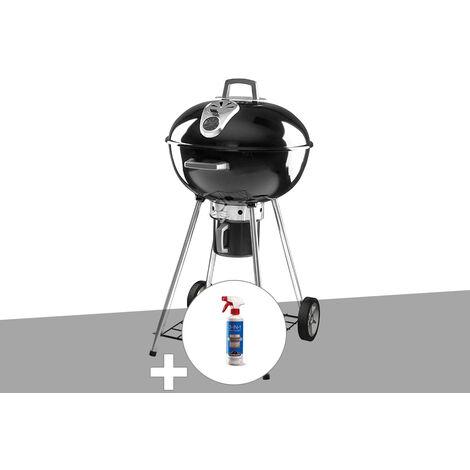 Barbecue à charbon Napoléon Rodéo 57 cm sur pied + Nettoyant grill 3 en 1