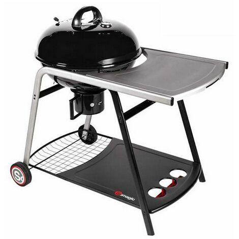 barbecue à charbon portable 57cm - 332570003 - somagic