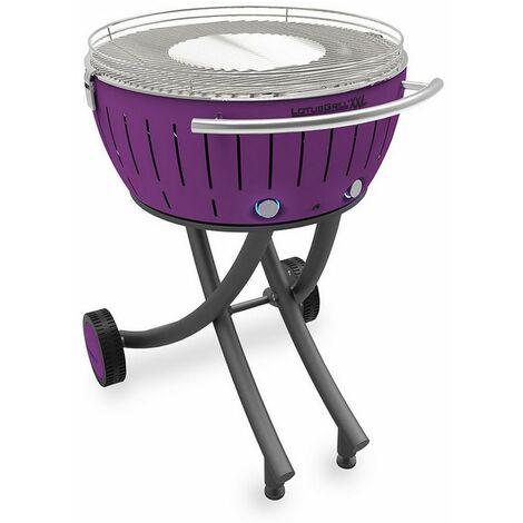 barbecue à charbon portable 60cm lilas - lg-li-600 - lotusgrill