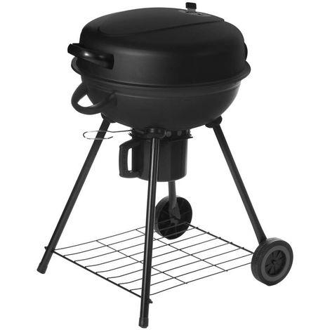 Barbecue à Charbon RONDE avec COUVERCLE 54 X 57 X 92 cm