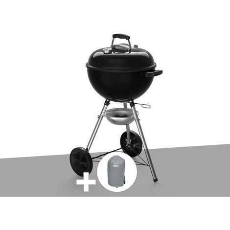 Barbecue à charbon Weber Original Kettle E-4710 47 cm + Housse