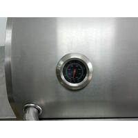 Barbecue A Gas Gpl E Metano 3 Fuochi Turrer Roasted Plus Inox