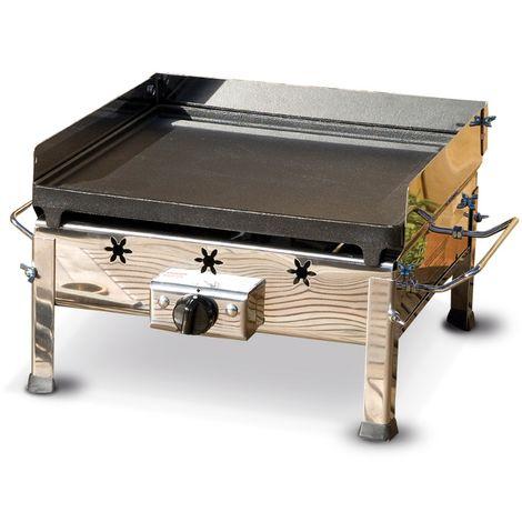 Barbecue a gas Plancha Inox