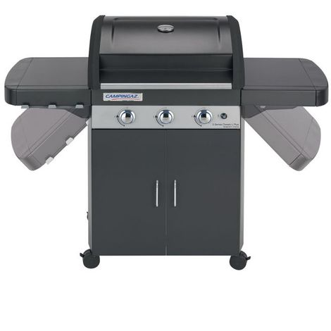 Barbecue a gaz 3 Series Classic LD Plus CAMPINGAZ - Acier - Extérieur - Acier