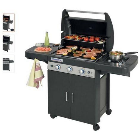 Barbecue à gaz CAMPINGAZ LS DARK 3 grill et plancha 3 Bruleurs