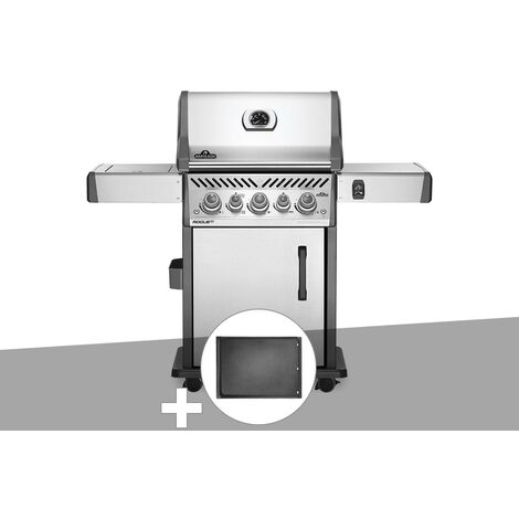 Barbecue à gaz Napoleon Rogue SE 425 inox 3 brûleurs + Plancha