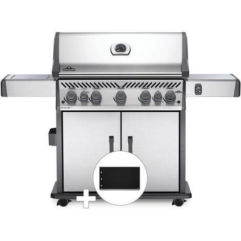 Barbecue à gaz Napoleon Rogue SE 625 inox 5 brûleurs + Plancha