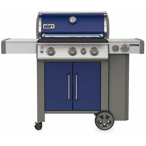 Barbecue à gaz Weber Genesis 2 EP-335 GBS Deep Ocean Blue - Noir