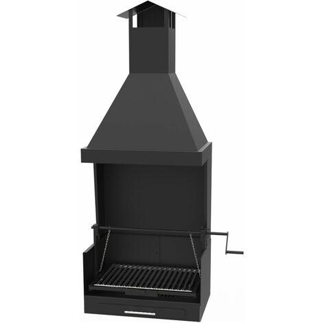 Barbecue argentin charbon bois FM BV-23 à poser