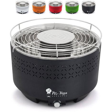 Barbecue au charbon de bois de table sans fumée avec ventilateur Galeras