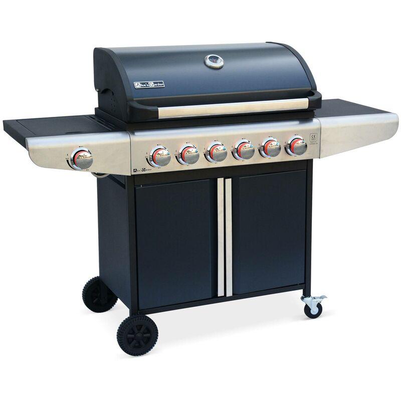 Alice's Garden Barbecue gaz Treville Barbecue 6 brûleurs