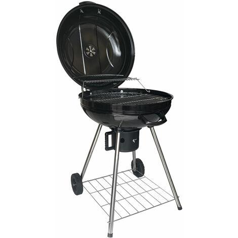 Barbecue boule au charbon de bois FRESNO - Noir