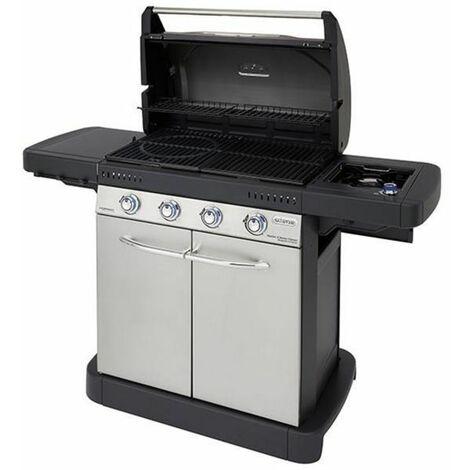 Barbecue CAMPINGAZ Design Master 4 Series S Classic - Aluminium poli - Extérieur - Aluminium poli